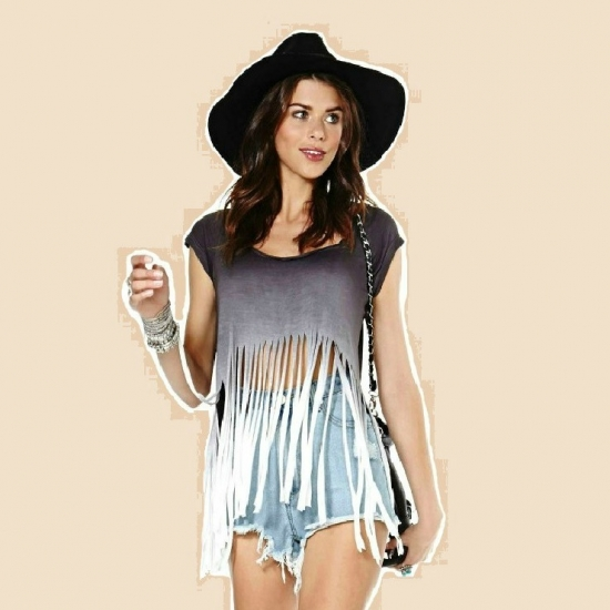 fashion homepage tassel top prep for circle