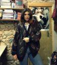 80s vintage chunky knit grandad cardigan 1111111