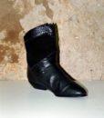 80s vintage fur lined pixie boots 11