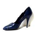 80s vintage navy 'Mary Popps' stiletto shoes 11