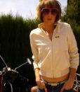 80s zipper jacket 111