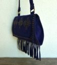 70s vintage boho tassel bag 2