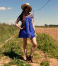 70s vintage folk dress 1