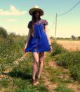 70s vintage folk dress 11
