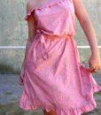70s vintage pink summer dress 5