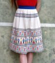 70s vintage skirt 111