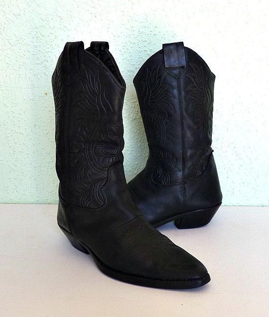 80s vintage global cowboy boots 2