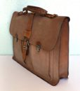 vintage leather brief case 3
