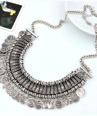 arabic boho coin necklace 22