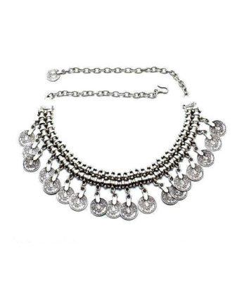 boho coin necklace 22