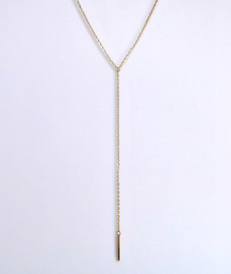 fashion necklace gold 1