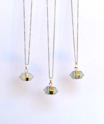 opal quartz pendant