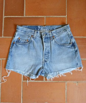 levis high waisted denim shorts 501 6