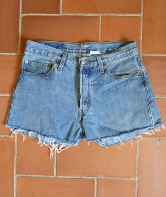 levis high waisted denim shorts 501 7