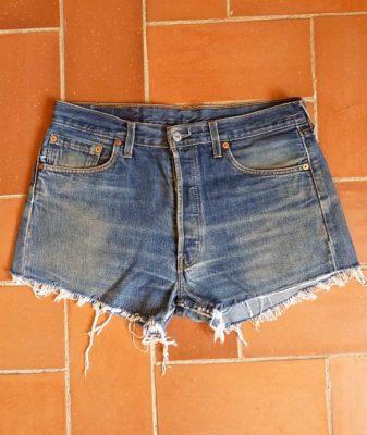 levis high waisted denim shorts 501 8
