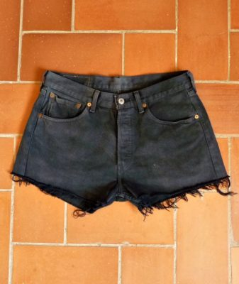 levis high waisted denim shorts 501 9