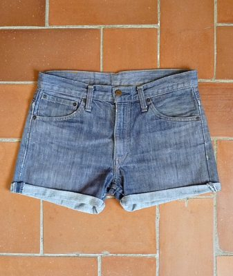 levis high waisted denim shorts 507 10