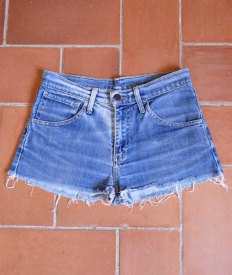 levis high waisted denim shorts 525 1