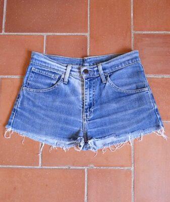 levis high waisted denim shorts 525 1