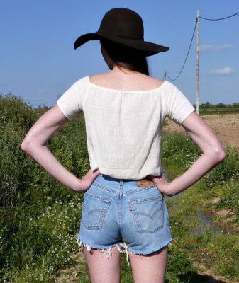 vintage high waisted levis denim shorts 11