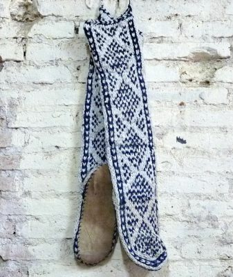 boho slipper socks large 6