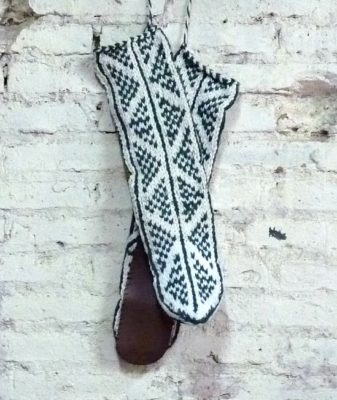 boho slipper socks small 3