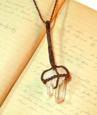 boho crystal necklace 3