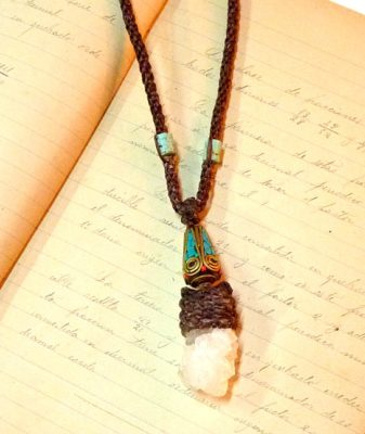 boho crystal necklace 5
