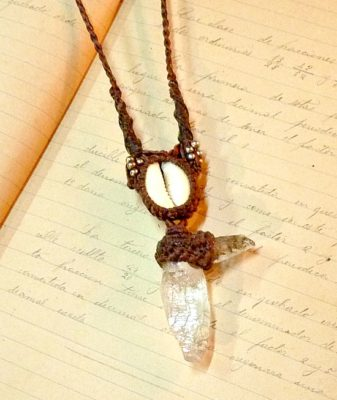 boho crystal necklace 6