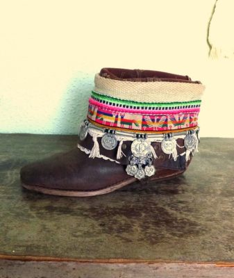 upcycled boho boots vintage peru 2