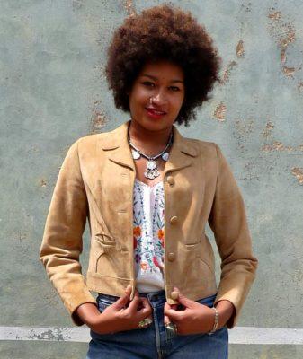 60s vintage suede jacket 1