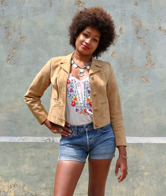 60s vintage suede jacket 3