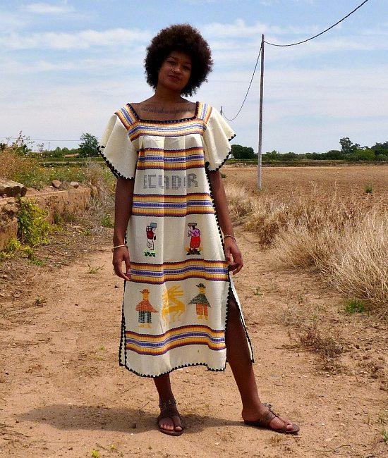 70s vintage ecuador dress 1
