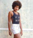 vintage 501 shorts rachel side