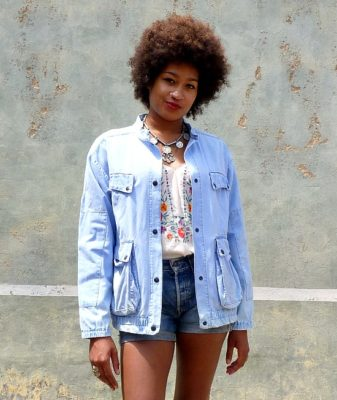 vintage denim jacket rachel 2