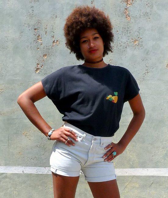 vintage pineapple tshirt 1