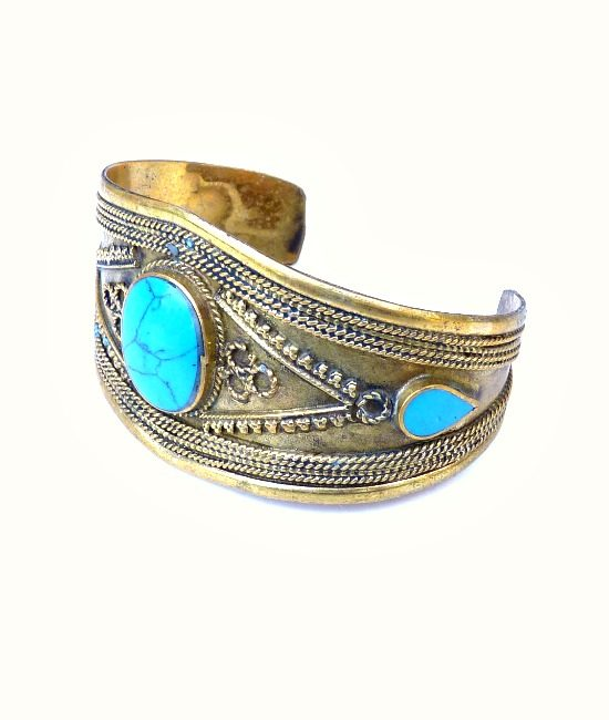2-vintage-boho-bangle-turquiose-555