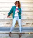 vintage cardigan bowie 1