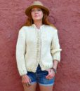 vintage cardigan chunky 2