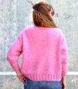 vintage cardigan pink 4