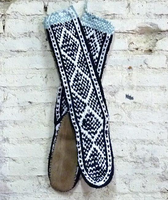 boho slipper socks large 2