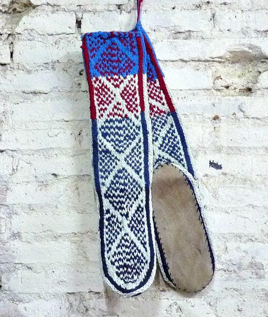 boho slipper socks large 7
