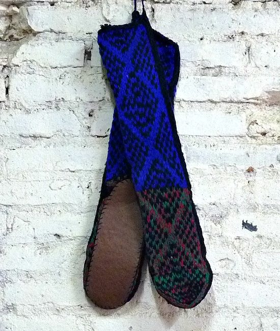boho slipper socks small 7