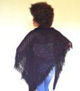 vintage 70s shawl 231