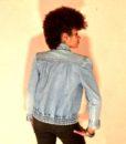 vintage denim jacket stud 1111