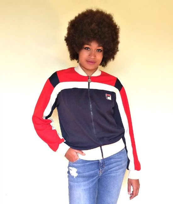 vintage fila 80s jacket