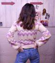 70s vintage lilac knit jumper 9