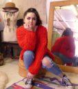 70s vintage loop knit cardigan 6