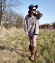 90s vintage stag sweatshirt 1