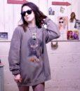 90s vintage stag sweatshirt 7